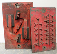 Red Foundry Moulds